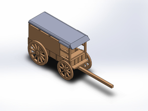MEDICINE WAGON in White Natural Versatile Plastic