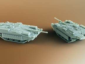 Stridsvagn 103 (Strv 103) S-Tank Scale: 1:200 in Smooth Fine Detail Plastic