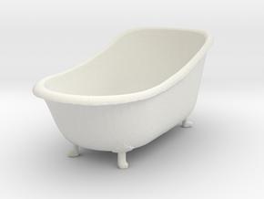 Printle Thing Bathtub - 1/24 in White Natural Versatile Plastic