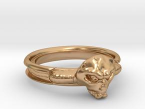 サラマンダーリング1号 in Polished Bronze