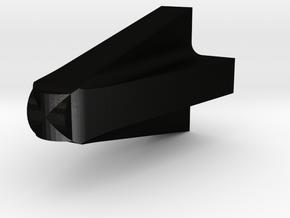 TRX-4 scale suspension relocation cone in Matte Black Steel