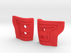 Proline Ford F-150 Raptor Body TailLight Bucket in Red Processed Versatile Plastic