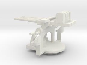 1/128 Scale 1.1 inch Mount Mk2 in White Natural Versatile Plastic