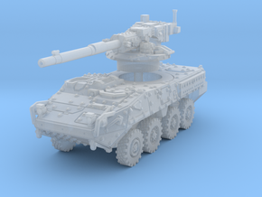 M1128 Stryker scale 1/285 in Smoothest Fine Detail Plastic