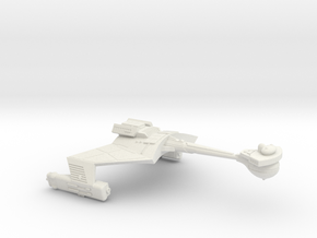 3788 Scale Klingon D6MK Refitted Mauler Cruiser WE in White Natural Versatile Plastic