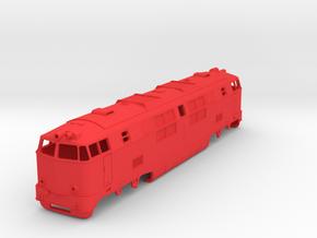 SGP 2020 / BDZ 04 / БДЖ 04 in Red Processed Versatile Plastic