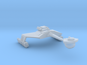 3788 Scale Romulan KRM Mauler Cruiser (Smooth) in Smooth Fine Detail Plastic