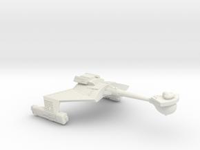 3125 Scale Romulan KRM Mauler Cruiser WEM in White Natural Versatile Plastic