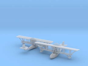 F.B.A. Type H Flying Boat in Smooth Fine Detail Plastic: 1:285