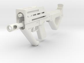MP32PDW Carbine in White Natural Versatile Plastic