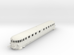 La Littorina Fiat - Fiat Railcar Wagon - HO - 1:87 in White Natural Versatile Plastic