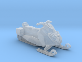 BF4 snowmobile 1/87 33mm in Smooth Fine Detail Plastic