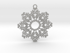 Ornamental pendant no.4 in Aluminum
