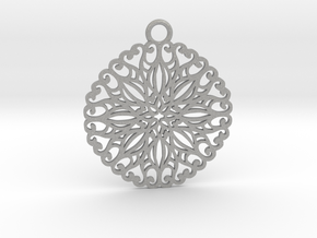 Ornamental pendant no.5 in Aluminum