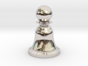 Pawn White - Bell Series in Platinum