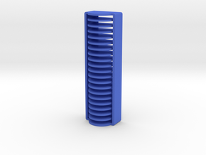 20 Coin Cell Battery Case (CR1620) in Blue Processed Versatile Plastic