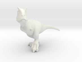 Carnotaurus_Chubbie in White Natural Versatile Plastic