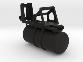 THM 00.1036 Air reservoir + wheel chock holder in Black Natural Versatile Plastic