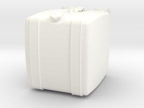 THM 00.2102-042 Fuel tank Tamiya MAN in White Processed Versatile Plastic