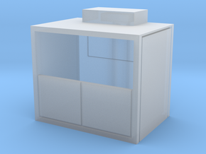 HO Scale Freight Elevator in Smooth Fine Detail Plastic