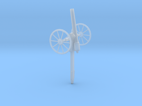 1/100 Scale American Civil War Cannon 10-Pounder in Smooth Fine Detail Plastic