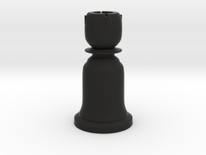 Rook Black - Bell Series in Black Natural Versatile Plastic