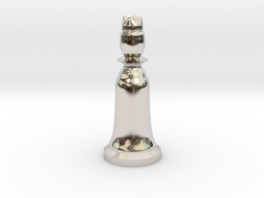 Queen White - Bell Series in Platinum