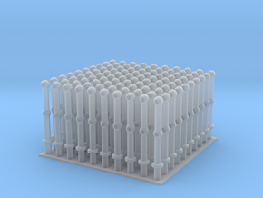 Stanchions - set of 100 - 1:144scale in Smooth Fine Detail Plastic