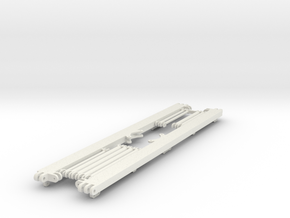main_frame_middle_section in White Natural Versatile Plastic