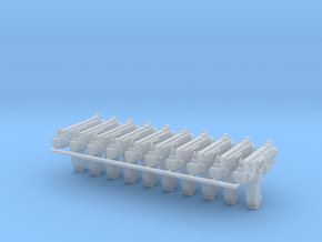 Mk29 Thunerbolters x10 #3 in Smooth Fine Detail Plastic