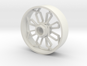 Xrider VRad Hex in White Natural Versatile Plastic