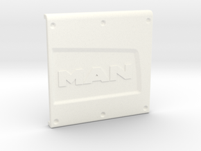 THM 00.2211 Exhaust cover Tamiya MAN Euro6 in White Processed Versatile Plastic