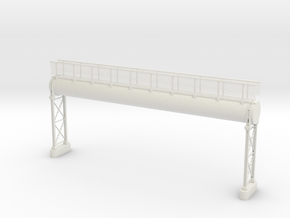Pipeline Hochanlage mit Gangway in White Natural Versatile Plastic