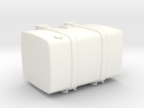 THM 00.5102-080 Fuel tank Tamiya Volvo FH12 in White Processed Versatile Plastic