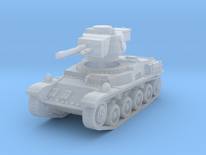 Toldi II Tank scale 1/160 in Smooth Fine Detail Plastic