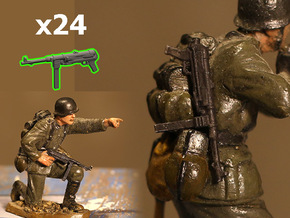 1/35 MP-38 (MP-40) submachine guns in Smoothest Fine Detail Plastic