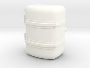 THM 00.3132-072 Fuel tank Tamiya Actros Lowliner in White Processed Versatile Plastic