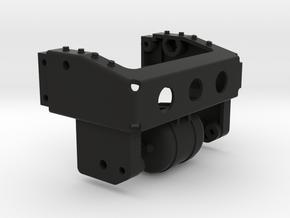THM 01.2404 Frame rear beam Tamiya MAN 4x2 in Black Natural Versatile Plastic