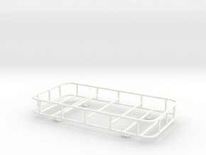 THM 07.0011 Roof rack small right angled Tamiya tr in White Processed Versatile Plastic