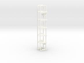 THM 07.4075 stepladder Scania cab in White Processed Versatile Plastic