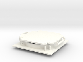 THM 20.0096 Bulk hatch open in White Processed Versatile Plastic