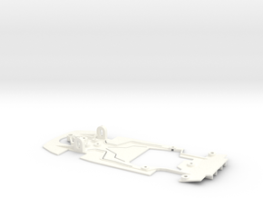 Porsche 911 GT1 (Fly Car Model) in White Processed Versatile Plastic