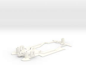 Peugeot 207 (Avant Slot) in White Processed Versatile Plastic