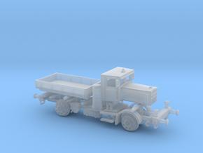 LKW VOMAG Holzvergaser Schienen Truck 1:160 in Smooth Fine Detail Plastic