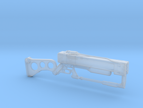 Fallout Laser Rifle (1:18 Scale) in Smooth Fine Detail Plastic