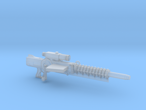 Gauss Rifle (1:18 Scale) in Smooth Fine Detail Plastic
