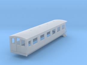 o-148fs-bermuda-railway-pullman-coach in Smooth Fine Detail Plastic