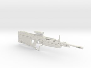 1/3rd Scale HALO DMR  in White Natural Versatile Plastic