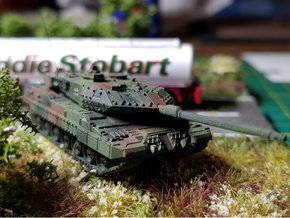 German Leopard 2 A7 MBT 1/160 in Smoothest Fine Detail Plastic