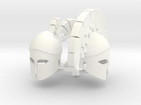 CORINTHIAN HELMETS in White Processed Versatile Plastic